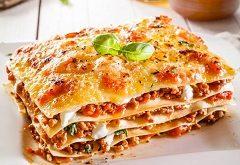 recept na lasagne s morčacím mäsom