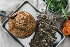 recept na nátierku zo slnečnicových semienok