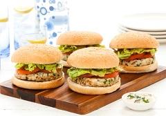 recept na rybie hamburgery