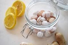 recept na zázvorové cukríky
