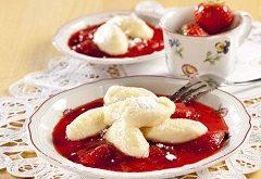 jogurtové halušky