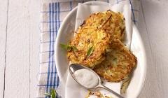 zemiakové placky sbrusnicami