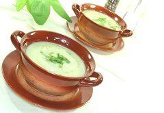 zemiakovú polievku so žeruchou