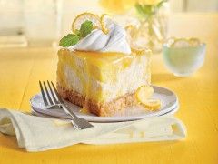 ako urobiť citrónový cheesecake