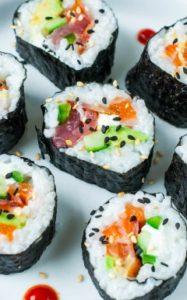 ako urobiť domáce sushi