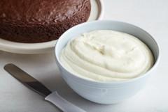 ako urobiť krém z bielej čokolády