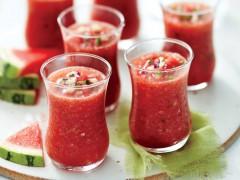 ako urobiť melónové gazpacho