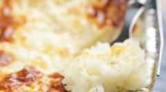 hruškový ryžový nákyp
