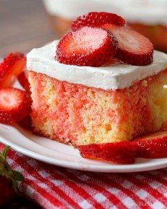 koláč z jahôd a tvarohu