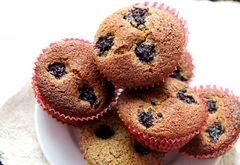 muffiny z kuskusu a ovocia