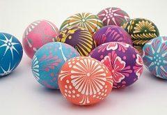 návod na zdobenie vajíčok