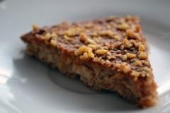 orechovo makový koláč