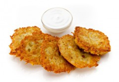 recept a návod ako upiecť kapustovo-zemiakové placky