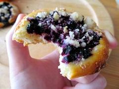 recept na čučoriedkové koláče