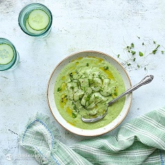 recept na uhorkovú polievku