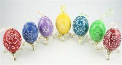 vajíčko voskovou batikou
