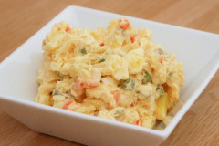 recept na výborný zemiakový šalát podľa rodinného receptu