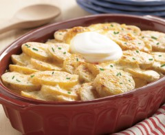 zemiaky na smotane