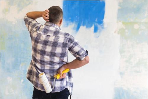 Ako jednoducho vymaľovať izbu návod