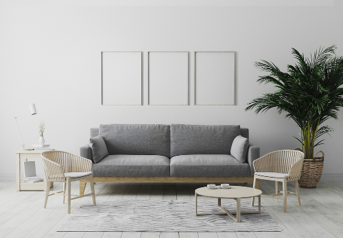 Krásny vynilový interiér