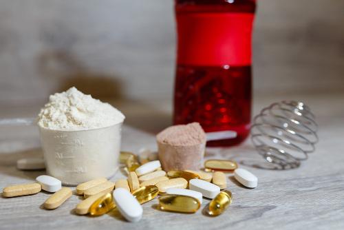Doplnky výživy na cvičenie BCAA