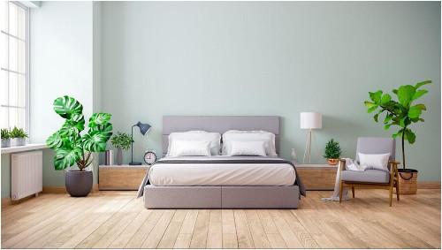 Čalúnená posteľ do spáľne