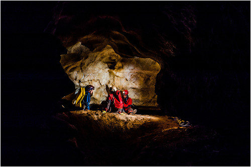 Adrenalinová jaskyňa v česku